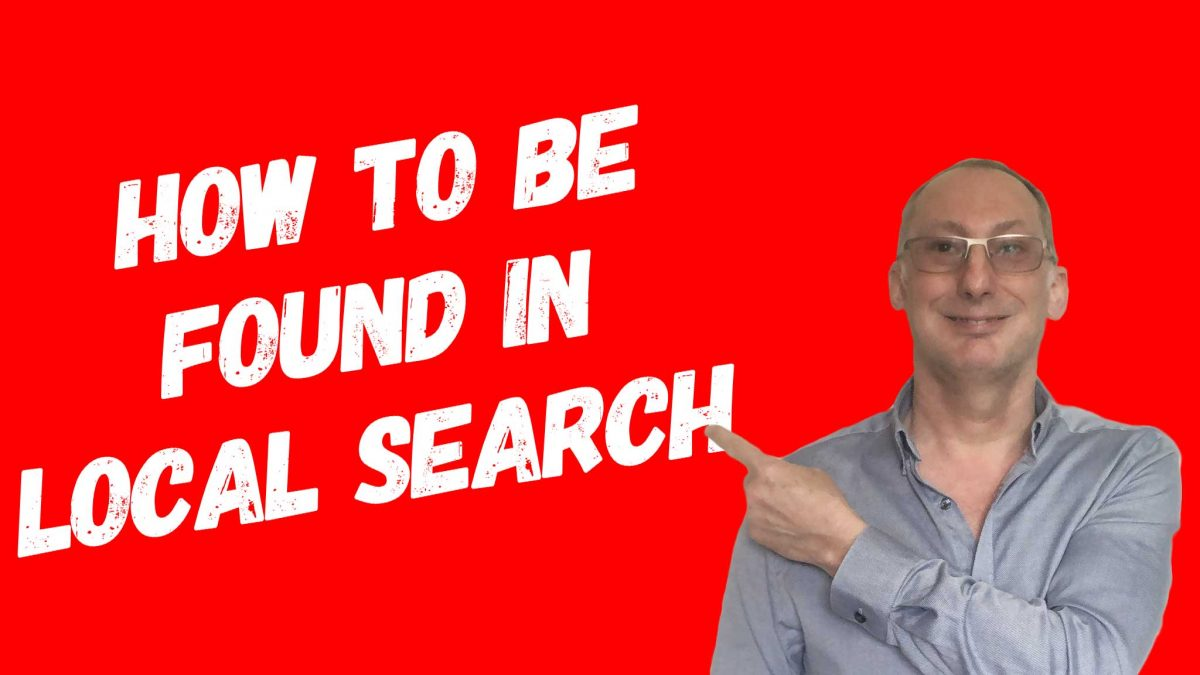 How to be found in local search