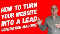 How to turn your website into a lead generation machine
